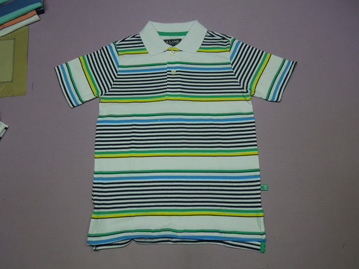 Yarn stripe t shirt