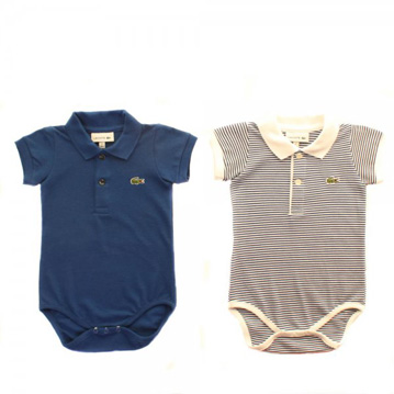 Body suit with polo collar