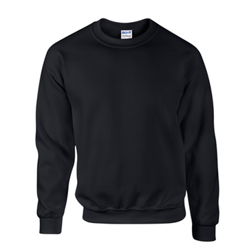 Plain black sweat shirt